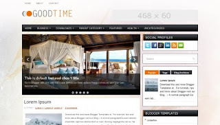 Download GoodTime Blogger Template