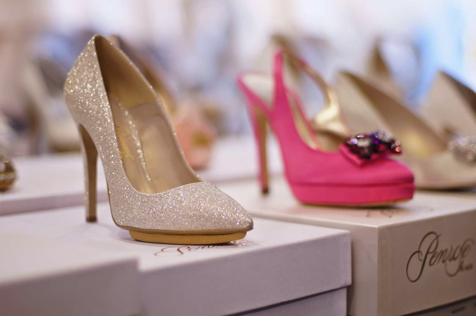 Bruidschoenen hemel! Penrose 2015 collectie