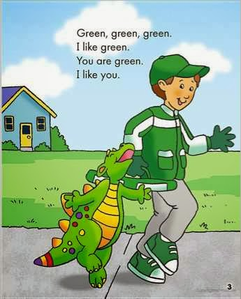 sample page #1 from IT'S ST. PATRICK'S DAY, DEAR DRAGON by Margaret Hillert