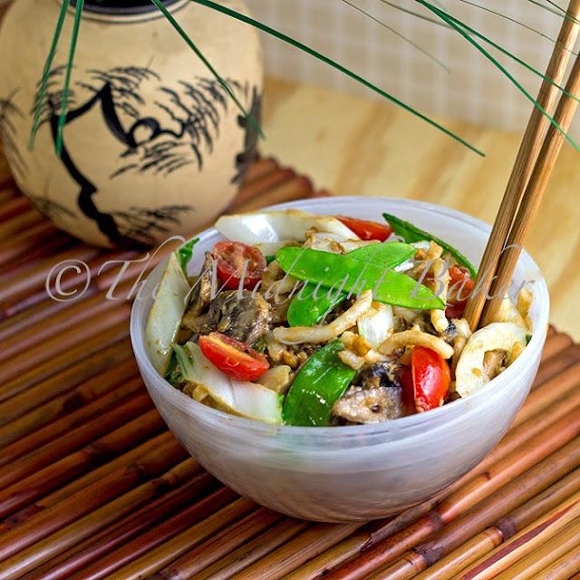 Vegan Peanut Noodles