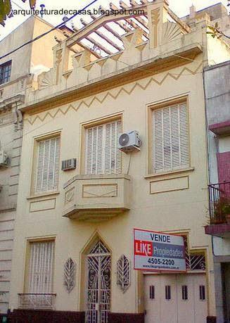 Casa de barrio estilo Art Decó en Agronomía, Ciudad de Buenos Aires