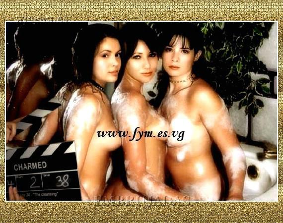 la serie embrujadas desnudas: