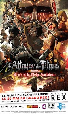 L'attaque des Titans – L'Arc et la flèche écarlates