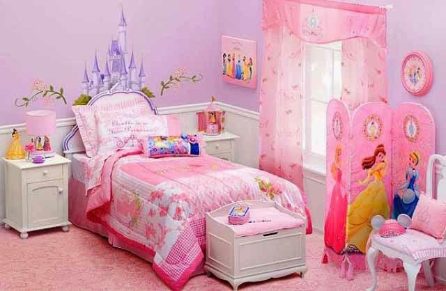 Kamar Bayi Perempuan dengan Tema Putri