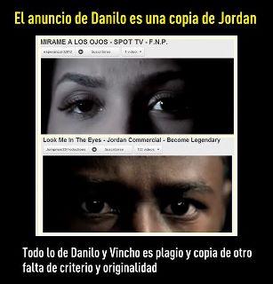 Dicen que anuncio de Danilo Medina es un Plagio