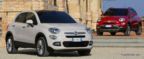 Fiat 500X Lounge and Cross Models