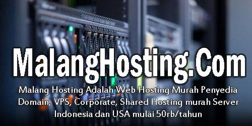 Malang Hosting | Domain Hosting Murah-Blog Kang Miftah