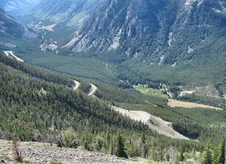 Bear Tooth Highway Switchbacks