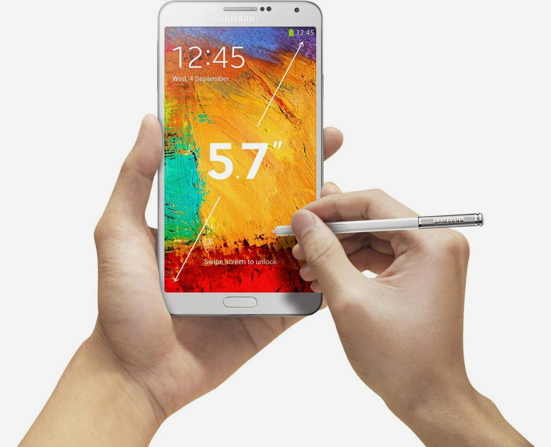 Import Samsung Galaxy Note 3 Lte N9005 32gb Black Amazing Lenovo Vibe X S960 16gb Silver 57 Screen