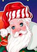 Красивый Дед Мороз - Онлайн игра для девочек