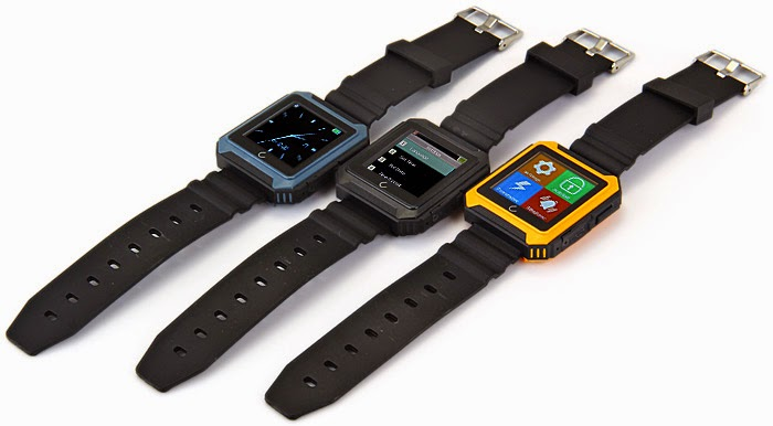 El Smartwatch U Watch U Terra esta disponible en 3 colores.