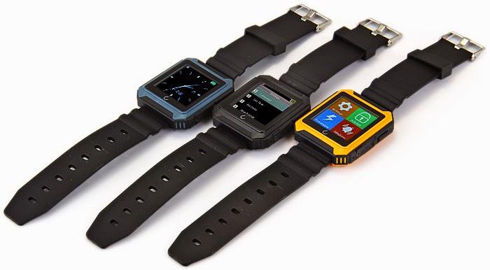 El Smartwatch U Watch U Terra esta disponible en 3 colores.