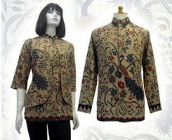Model baju batik modern 01w