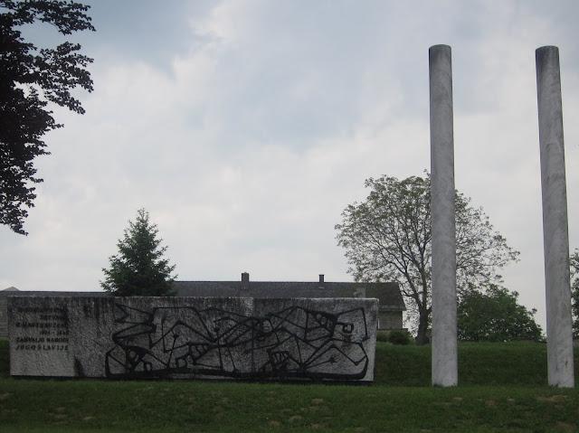Yugoslavian Monument, Mauthausen Concentration Camp, Vienna / SouvenirChronicles.blogspot.com