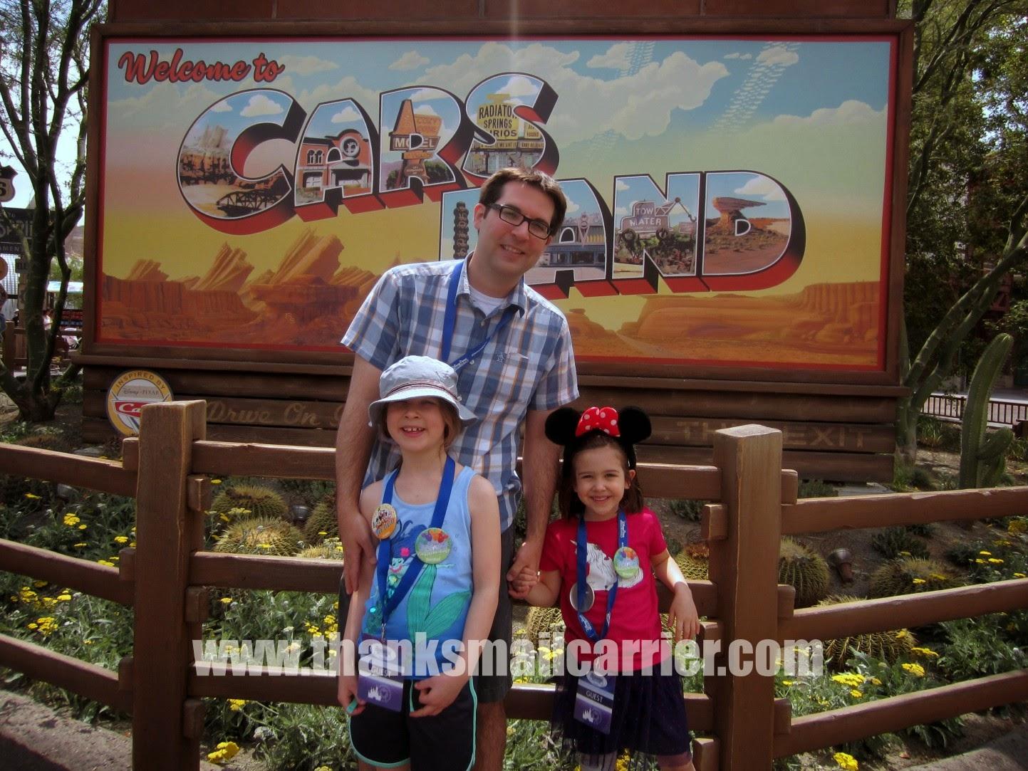 Disneyland Cars Land