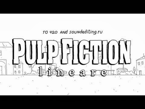 14A Studio. Speedrun: Pulp Fiction in 60 seconds