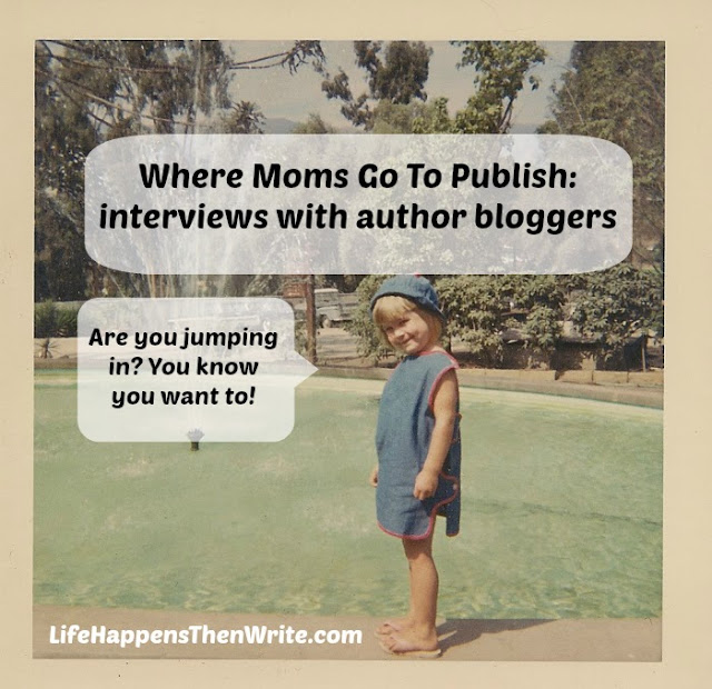 Interviews With Author Bloggers {Life Happens Then Write blog}