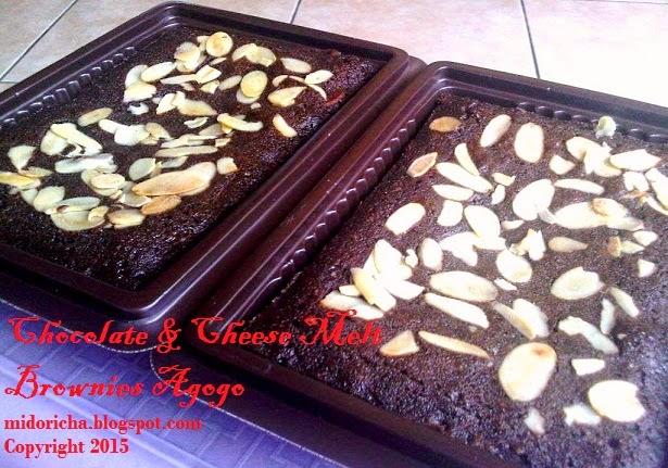 Catatan Tangan Ocha Chocolate And Cheese Melt Brownies Agogo