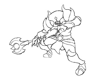 #41 Dota 2 Coloring Page