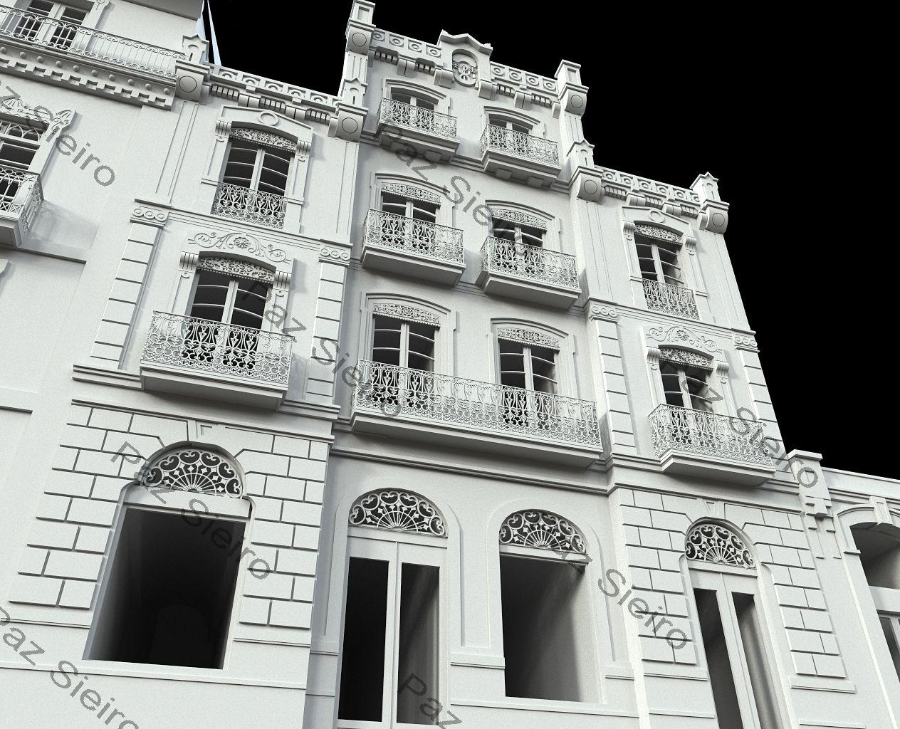 Works 3d edificio villanueva 1881 r a progreso ourense arquitectos antonio l pez crespo e - Arquitectos ourense ...