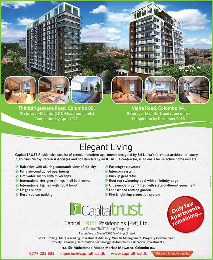 Capital TRUST Residencies - Elegant Living.
