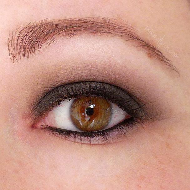ahumado smokey ojos verdes