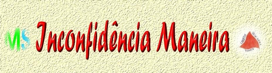 INCONFIDÊNCIA MANEIRA