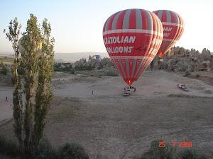 Os balões