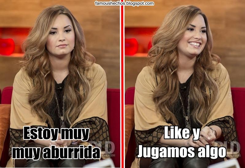 Famous Hechos: Memes De Demi Lovato