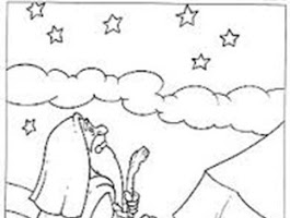 Coloring Page Of Abraham And Visitors