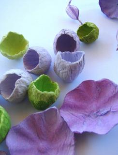 fiori di carta per matrimoni ecologici