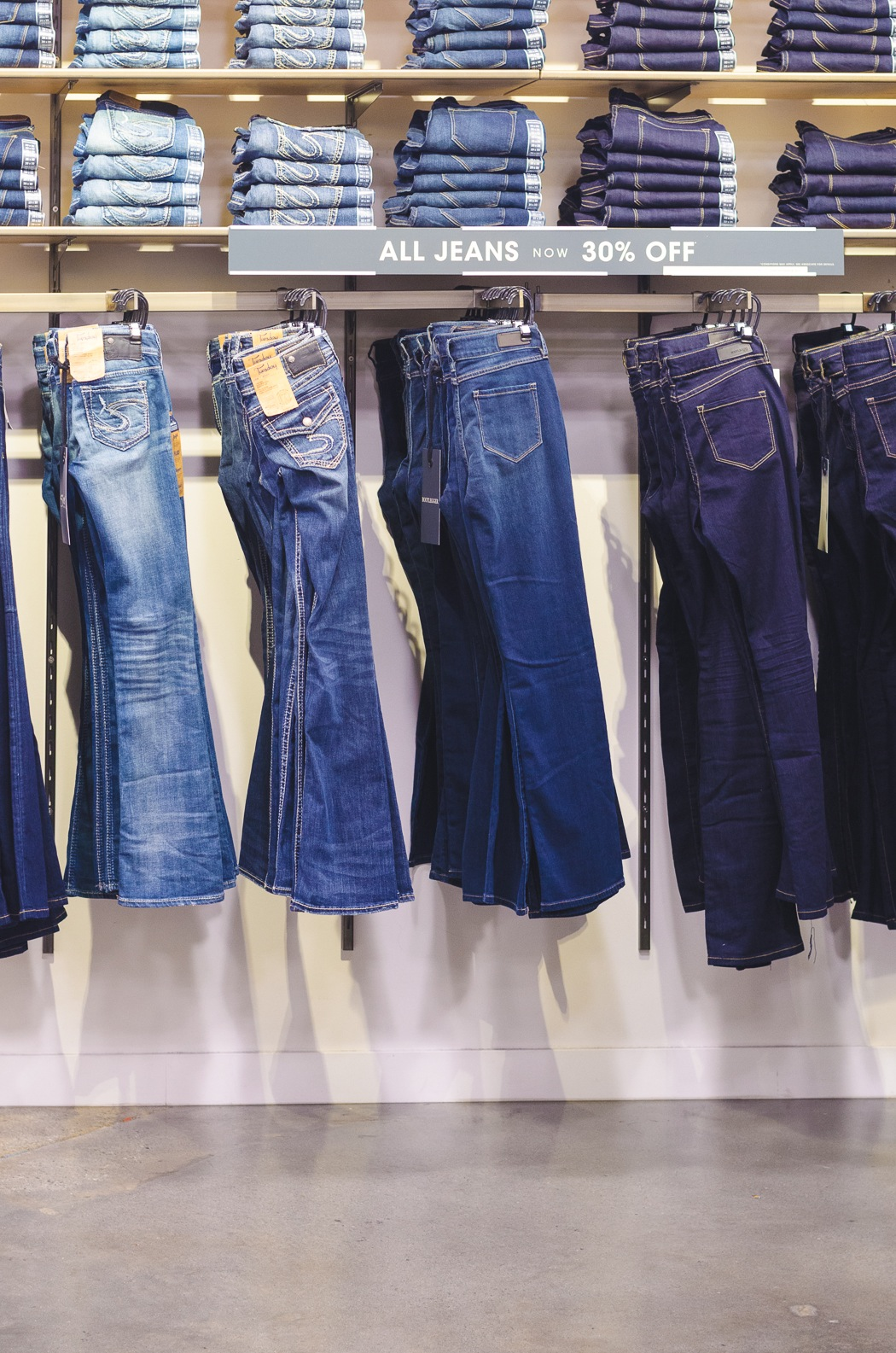Silver Jeans Bootlegger - Jeans Am