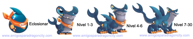imagen del crecimiento del dragon martillo
