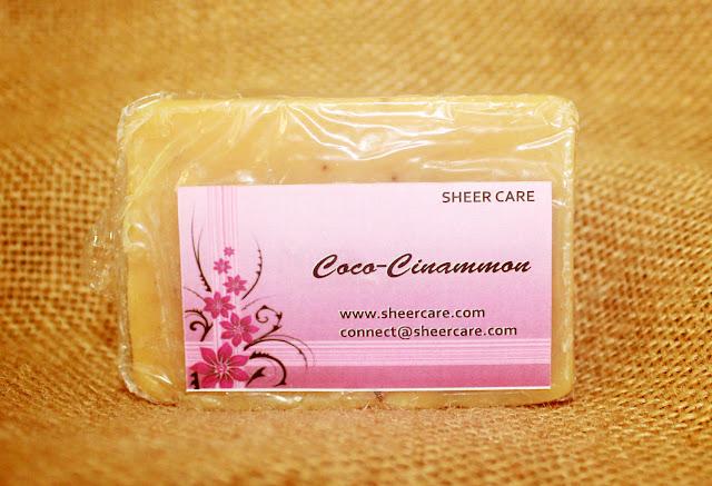 Sheer Care Cocoa Cinnamon Soap Review