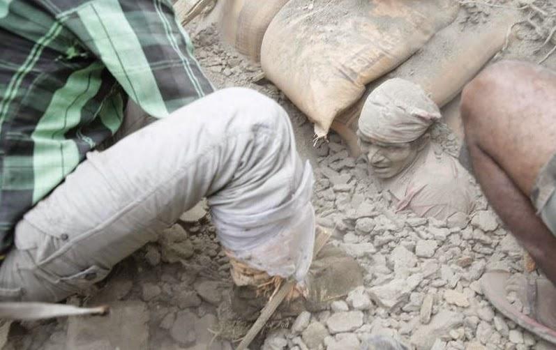 miles de muertos terremoto Nepal,  tragedia