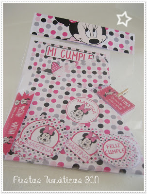 Kit de fiesta impreso minnie