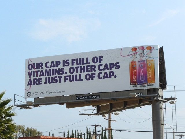 Activate full of cap billboard