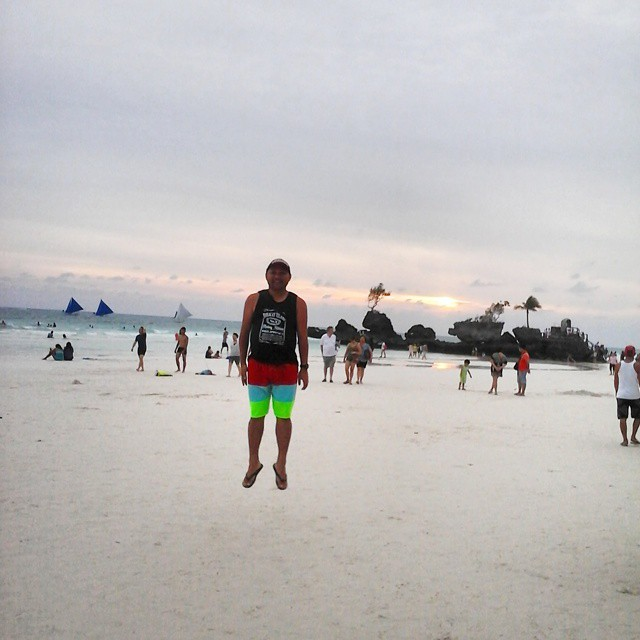 ONE DAY IN BORACAY DURING HABAGAT SEASON
