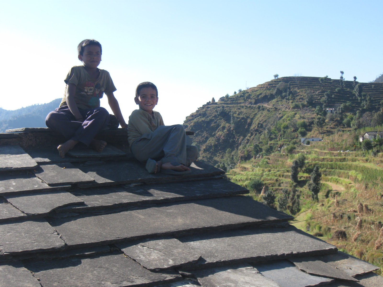 Rapid Uplift Field Photos Kumaon Himalaya Landscapes In