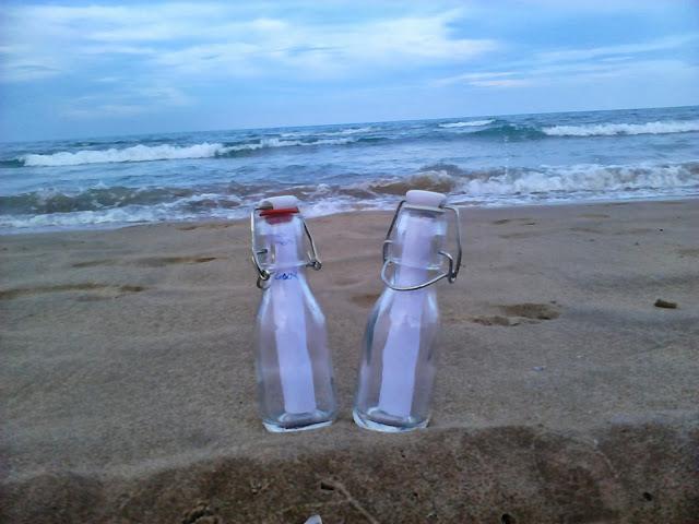 Lectoescritura: mensaje en una botella