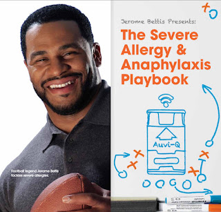 Jerome Bettis Severe Allergy and Anaphylaxis Playbook