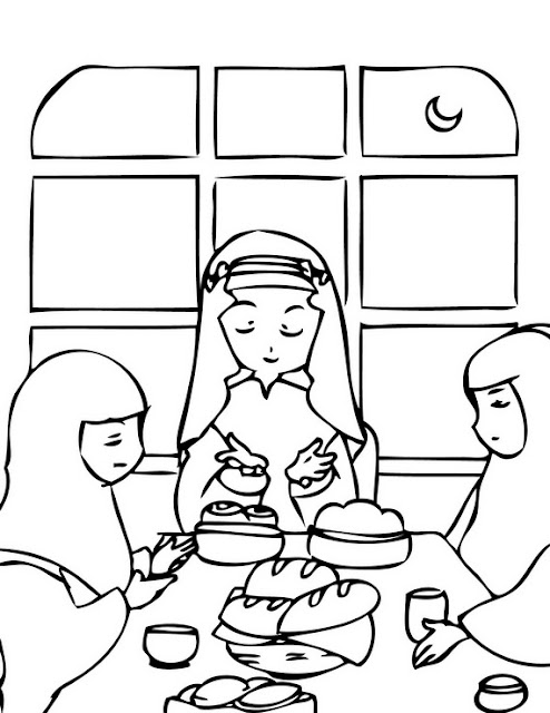 Ramadan Coloring Pages Printable
