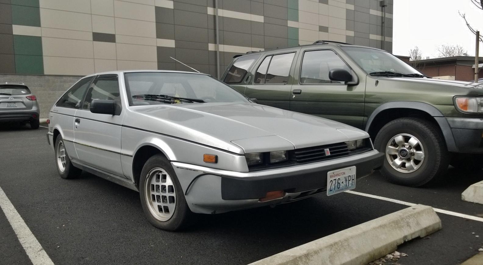 Seattles Parked Cars 1984 Isuzu Impulse