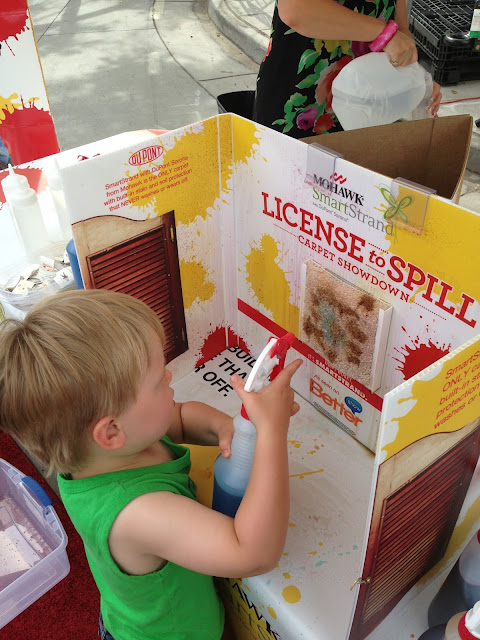 "Got Our ""License to Spill"" with Smartstrand Mohawk Flooring #ad #cbias #shop"