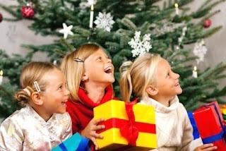 Подарки к Новому Году детям