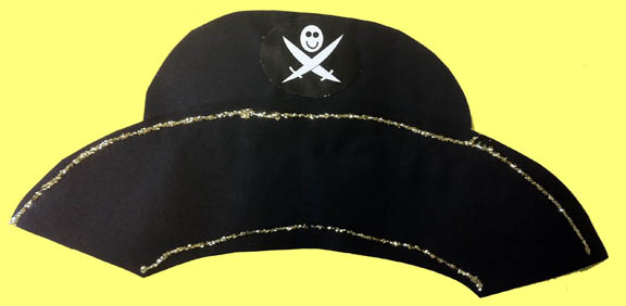 Pirate hat drawing side view - photo#5