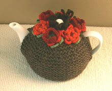 Red Flowers Teacosy