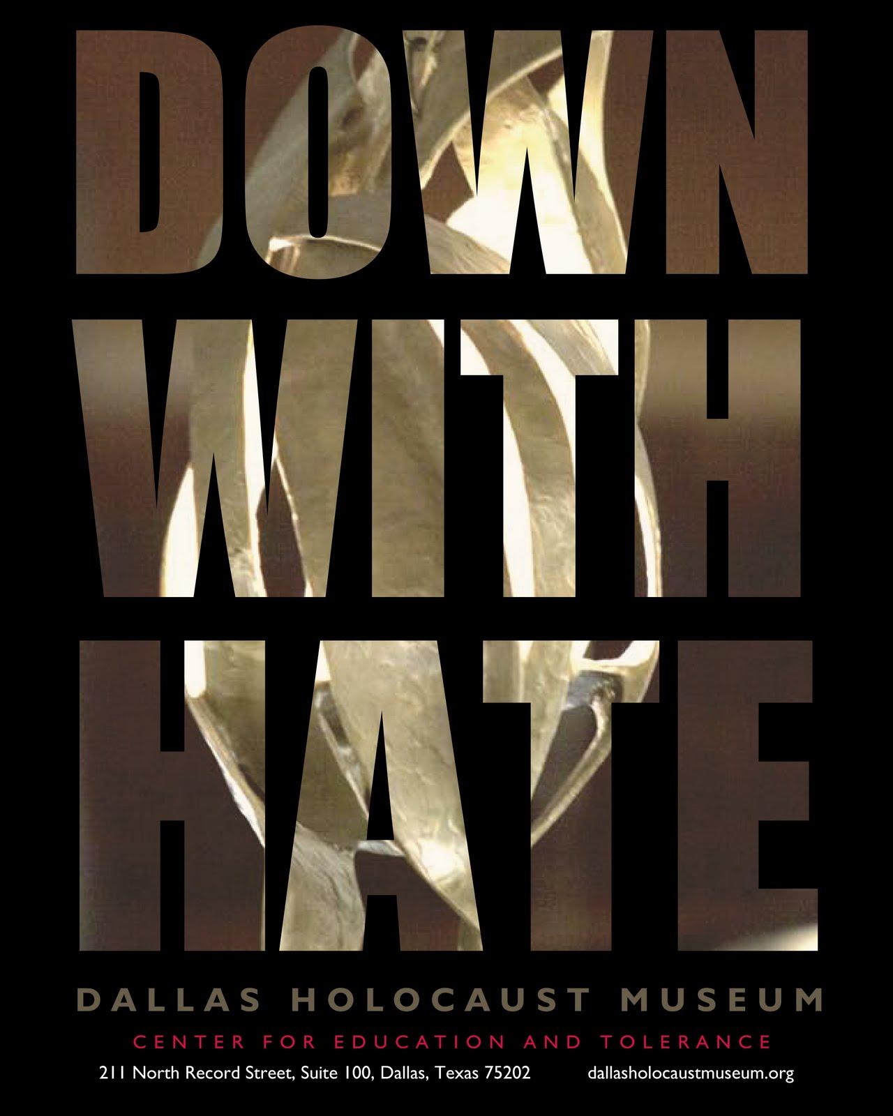 Ruth Siddiqi Graphic Design Dallas Holocaust Museum Poster