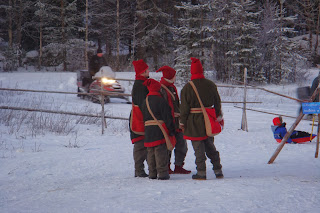 Elves in Lapland