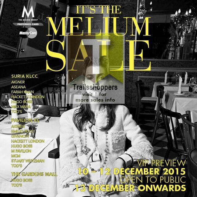The Melium Group Sale kl pavilion gardens